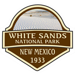 White Sands National Park Sticker Decal R7114 New Mexico YOU CHOOSE SIZE