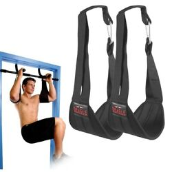 Kyпить Ab Hanging Straps Abdominal Muscle Sling Home Gym Pull Up bar Core Fitness Abs на еВаy.соm