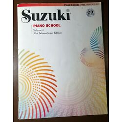 Kyпить Suzuki Piano Book Volume 4 with CD на еВаy.соm