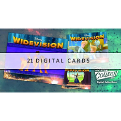 Kyпить Topps Disney Collect WIDEVISION Series 3 21 CARD MOTION + BLUE + ORANGE  на еВаy.соm