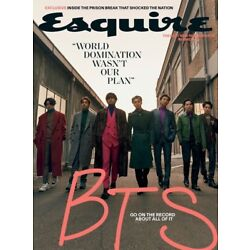 Kyпить ESQUIRE MAGAZINE-WINTER 2020-GO ON THE RECORD ABOUT ALL OF IT-BTS-IN STOCK на еВаy.соm