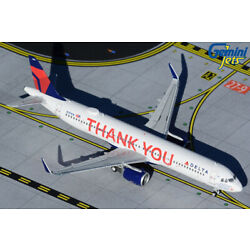 GEMINI JETS DELTA AIRLINES AIRBUS A321NEO 1:400 DIE-CAST GJDAL1927 IN STOCK