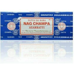 Kyпить Satya Sai Baba Nag Champa Agarbatti Incense Sticks Box 250gms Hand Rolled на еВаy.соm