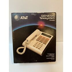 Kyпить Vintage AT&T Genesis Telesystem Telephone Complete In Box Tested на еВаy.соm