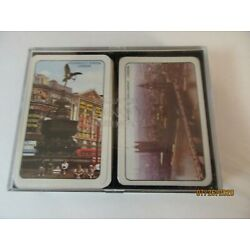 Kyпить Vintage Playing Card Set Piccadilly Circus & Parliament London 1 Unopened на еВаy.соm