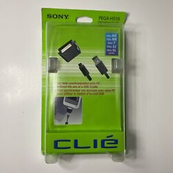 Authentic Sony Clie PEGA-HS10 USB HotSync Cable   New Sealed FREE Shipping