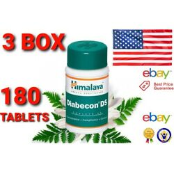 OFFICIALLY STORE  USA NEW 3 BOX 180 tablets NEW Diabecon DS Blood sugar Support