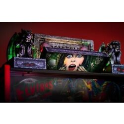 Kyпить LAST CALL!!! Official Stern Elvira House Of Horrors Pinball Topper - 502-7105-00 на еВаy.соm