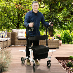 Kyпить Upright Walker Stand Up Folding Rollator Back Erect Rolling Walking Aid на еВаy.соm