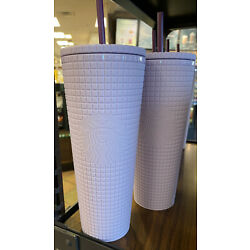 Kyпить Starbucks Siren Lilac Lavender Purple Studded Diamond Grid Cold Cup Tumbler на еВаy.соm