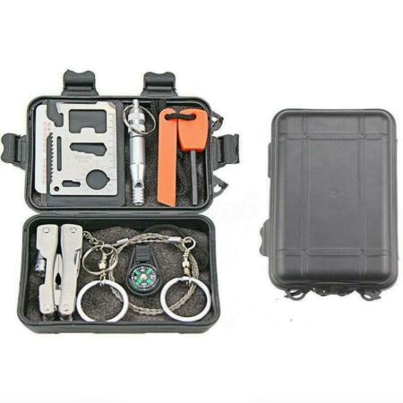 img-Tactical Survival Tools Kit Camping Hiking Emergency Outdoor Military EDC Gear
