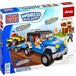 Kyпить Mega Bloks World Builders Jeep All Terrain Explorer 97806 на еВаy.соm