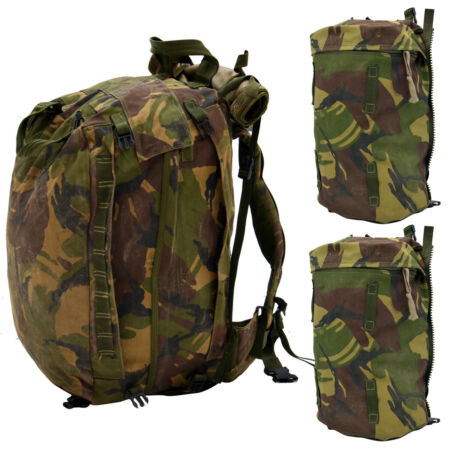 img-British Army Military DPM Woodland Rucksack Backpack 60L + 25 L Other Arms