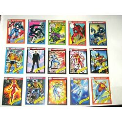 Kyпить 1990 MARVEL UNIVERSE SERIES 1 COMPLETE 162 CARD SET NM! STAN LEE! SPIDER-MAN! на еВаy.соm