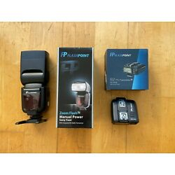 Kyпить Flashpoint Zoom R2 Manual Flash and Transmitter for Sony на еВаy.соm
