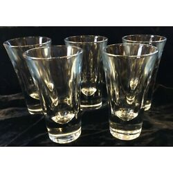 Kyпить Vintage  Set Of 5 Clear Crystal Double Shot Glasses Made In Germany на еВаy.соm