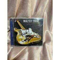 Kyпить Walter Trout Relentless Signed Cd Case With Ticket Stub  на еВаy.соm