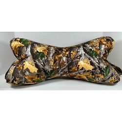 Dog Bone Neck Pillow, Neck Support, Lower Back Support, *Multi Patterns* Small