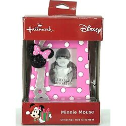 Kyпить NEW Disney 2018 Hallmark Christmas Ornament Minnie Mouse Pink Picture Frame на еВаy.соm