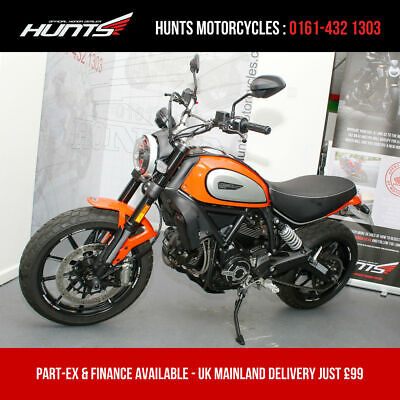 2019 19 Ducati Scrambler Icon. Only 1,301 Miles. ££'s of Extras (SEE AD!) £7,695