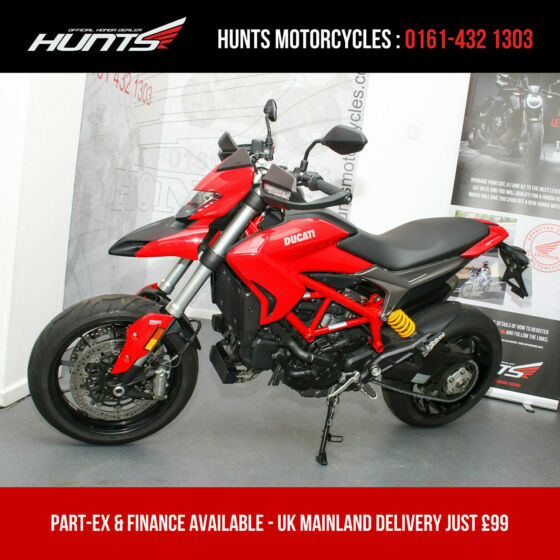 2017 '17 Ducati Hypermotard 939. Ducati Safety Pack. ONLY 3,802 MILES. £7,995
