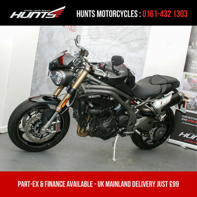 2019 '69 Triumph Speed Triple 1050S ABS. 1 Owner. ONLY 2,783 MILES. £8,995