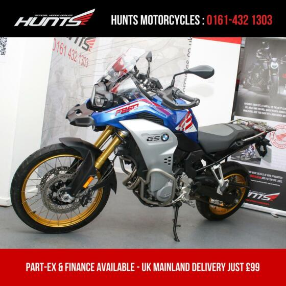 2020 '20 BMW F850GS Adventure Sport Rallye. 1 Owner. ONLY 3,387 MILES. £10,895