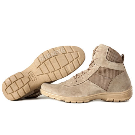 img-Men's Boots Shoes Tactical Combat Leather Russian Ankle Hiking Desert Garsing