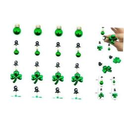 Kyпить  16 Pieces Plastic St Patrick Day Shamrock Beads Beard Ornament Facial Hair  на еВаy.соm