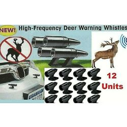Deer Whistles Wildlife Warning Device Animal Sonic Alert Car Safety Accessory 12