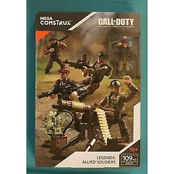 Kyпить NEW IN BOX MEGA CONSTRUX CALL OF DUTY LEGENDS: ALLIED SOLDIERS FMG15 109 PCS на еВаy.соm