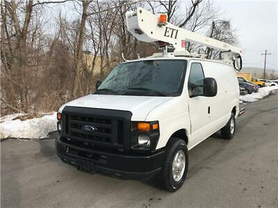 2010 Ford E350 ETI 36ft Bucket Truck One Owner No Reserve