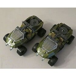 Kyпить LOT OF 2 MEGA BLOKS WARTHOGS ?? VEHICLES CAR TRUCK JEEP на еВаy.соm
