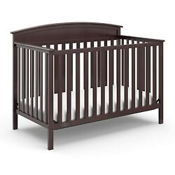 Kyпить Graco Benton 5-in-1 Convertible Crib - Espresso на еВаy.соm
