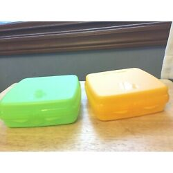Kyпить New Tupperware two sandwich keepers на еВаy.соm
