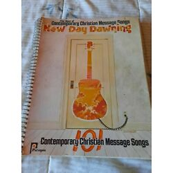 Kyпить New Day Dawning The Best Of Contemporary Christian Message Songs Song Book-1978 на еВаy.соm
