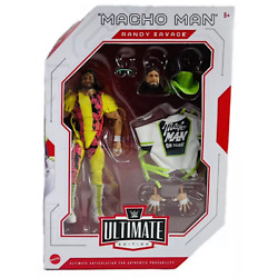 Kyпить WWE Mattel Macho Man Randy Savage Ultimate Edition Series #8 Figure на еВаy.соm