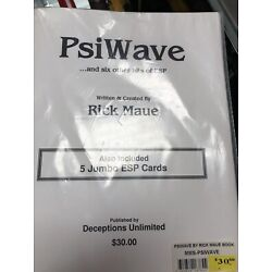 Kyпить Psi Wave By Rick Maue на еВаy.соm