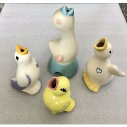 Kyпить Lot Of 4 Vintage Pie Birds на еВаy.соm