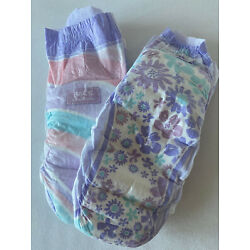 Kyпить Goodnites XL Diapers. New Size. 95 -140+ Ibs - GIRLS  Sample Pack of Two NEW! на еВаy.соm