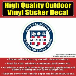 National Roofing Contractor Association Business Sign Banner Vinyl Business Stic