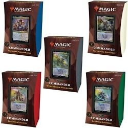 Kyпить Strixhaven Commander 2021 Deck Set - MTG - Brand New! Ships Now! на еВаy.соm
