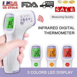 Kyпить Infrared Non-Contact Digital Forehead Body IR Thermometer Termometro Baby Adult на еВаy.соm