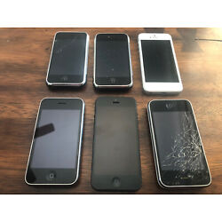 Kyпить Apple iPhones Used LOT (6)  на еВаy.соm