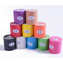 5M/Roll 5/10/15cm Kinesiology Sports Muscle Care Elastic Physio Therapeutic Tape