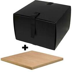 Motorcycle Scooter Food Pizza Delivery Top Box & Mounting Board Deliveroo -Large