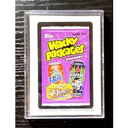 Kyпить 2021 Topps Wacky Packages Monthly Series- March- (21) Card Base Set + Empty Box на еВаy.соm