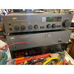 Kyпить Vintage NAD New Acoustic Dimension Model 3140 INTEGRATED  Amplifier working  на еВаy.соm
