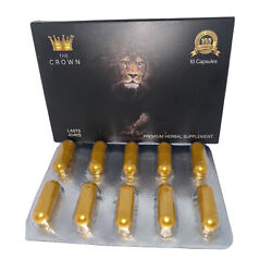 Kyпить the crown Male Enhancement,men Sex Pills,strong Natural Energy Booster 10 Ct на еВаy.соm