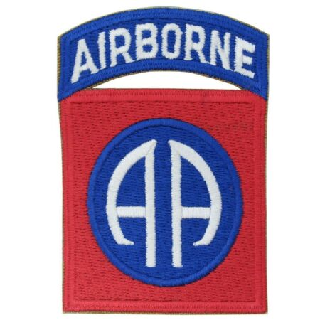 img-82nd Airborne Patch (WW2 Repro) All Americans US Army Badge Uniform Insignia NEW